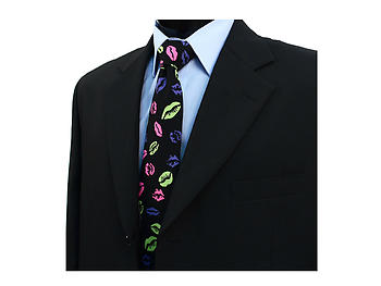 Lips & Kiss Novelty Tie