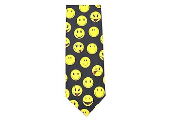 Smiley Faces Novelty Tie