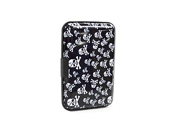 Large Skulls Aluminum Wallet Credit Card Holder With RFID Protection