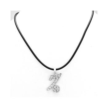 Capricorn Crystal Pave Zodiac Pendant Necklace