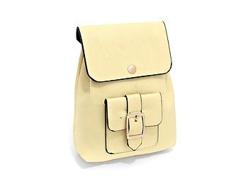 Ivory Buckle Pocket Crossbody Mini Backpack Shoulder Bag