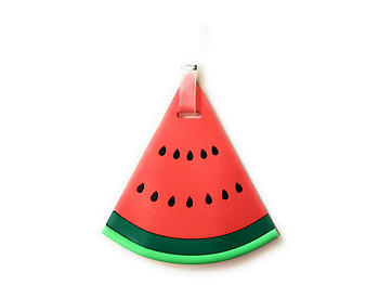 Watermelon Slice ~ Travel Suitcase ID Luggage Tag and Suitcase Label